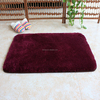 Waterproof rug absorbent bath rug without rubber backing
