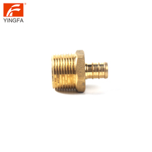 62003-8 lead free copper CUPC brass plumbing supply welded male coupling pipe fitting adapter