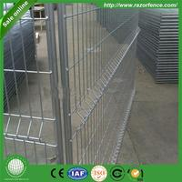 hebei wrought forged iron farm cheap temporary pet fence