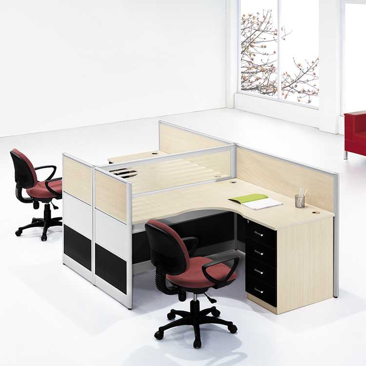 Wooden 2 seater workstation office furniture workstation modern office workstation