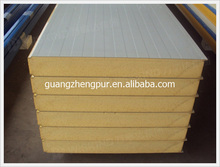 Colored steel PU sandwich panel for roof and wall panel sandwich