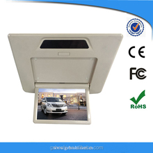 customized dedicated hidden hd 1280p flip down monitor for toyota alphard