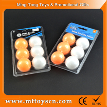 Customized design plastic color ping pong ball