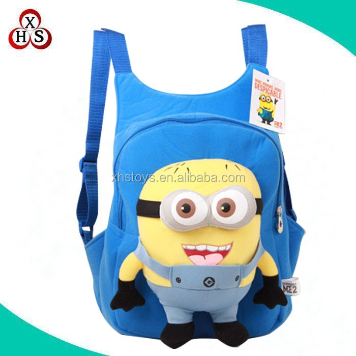 good quality plush cartoon bag school backpack kids bag for sale