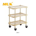 MUK wholesale hotel restaurant service car trolley 3-8 layers compartment cart