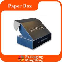 Black Custom Printing Corrugated Grey Cardboard