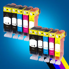 PGI-525BK/CLI-526 BK/C/M/Y Ink Cartridge For Canon Printer Chip MG8150