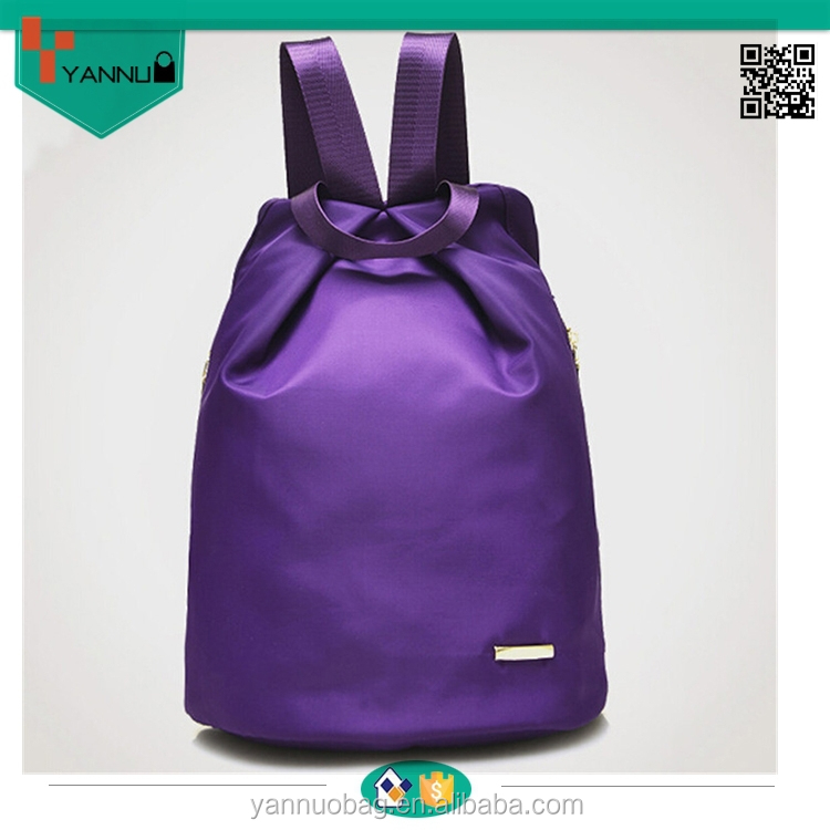 China Very high quality nylon silk backpack with bright colors