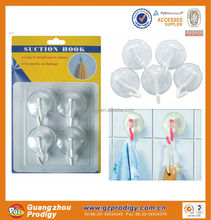 bath accessories PVC small magic suction cup hooks