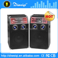 Top selling professional speaker with amplifier
