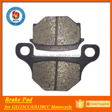 factory price gn spare parts pad disc brakes for motorcycles