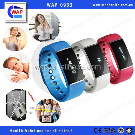 WAP-health promotional Time display smart watch mobile phone with CE certificate