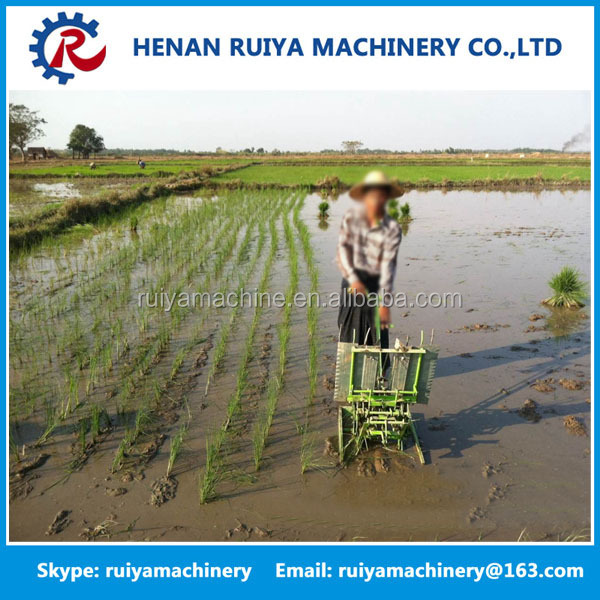 New Advanced manual type rice planting machine