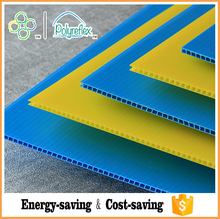 Polyflute Sheet Plastic Coated Cardboard Sheets