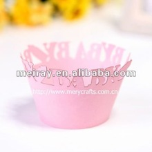 "fancy design! children party suply ""baby bottle"" cupcake wrapper"