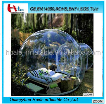 High quality inflatable clear tent,inflatable transparent tent