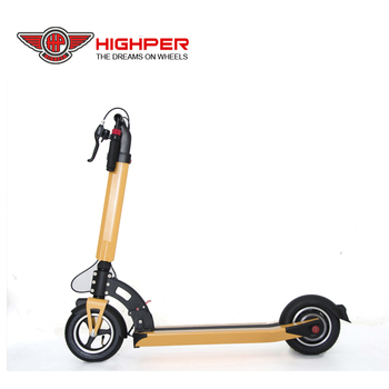 350w brushless motor 10ah lithium battery folding mini 2 wheel electric scooter for adults(HP109E-C)