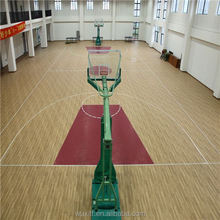 2016 hot sale top quality non-slip basketball pvc floor covering gyms