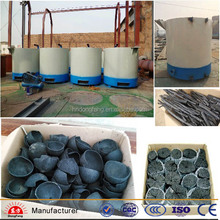 Wood charcoal carbonizing furnace