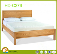 european style mdf panel bedroom furniture king size bed