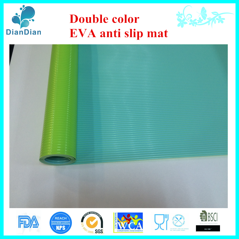 double color eva environmental friendly floor mat grip pad drawer liner