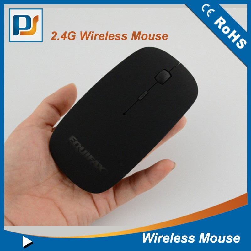 Slim black wholesale USB 2.4ghz charing optical Wireless Mouse