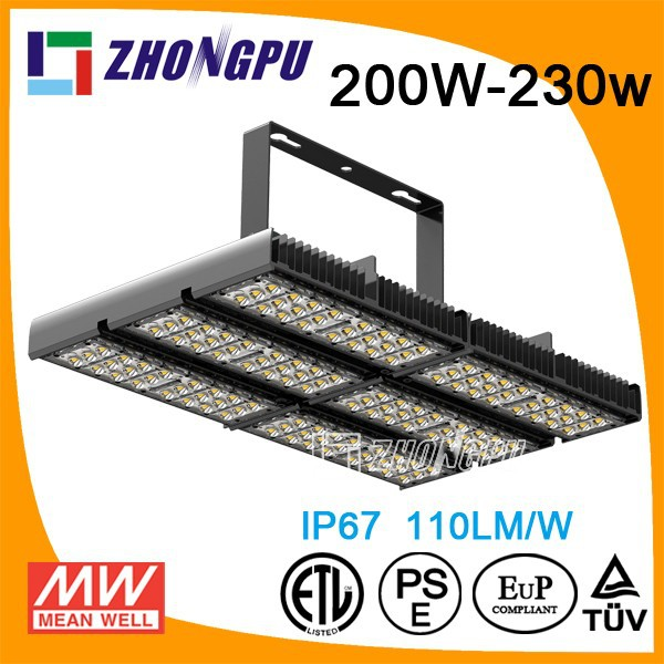 Bridgelux 45mil 120W good quality 230w led wall pack led tunnel light CE RoHS FCC and TUV approved