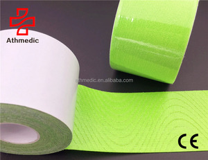2020 Athmedic Premium Kinesiology Sports Physiotherapy Tape FDA Approved PRO Synthetic Elastic Kinesiology tape