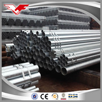 Galvanized Round Steel Pipe for building material with low price