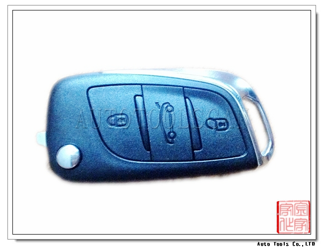 Excellent 3 Button Folding Remote Key For Citroen C5/DS3 smart remote 433MHZ AK016015