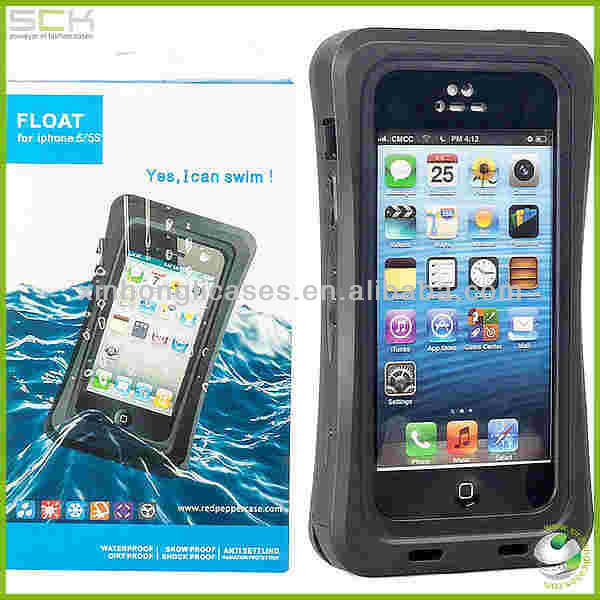 water proof cell phone case for iphone 5