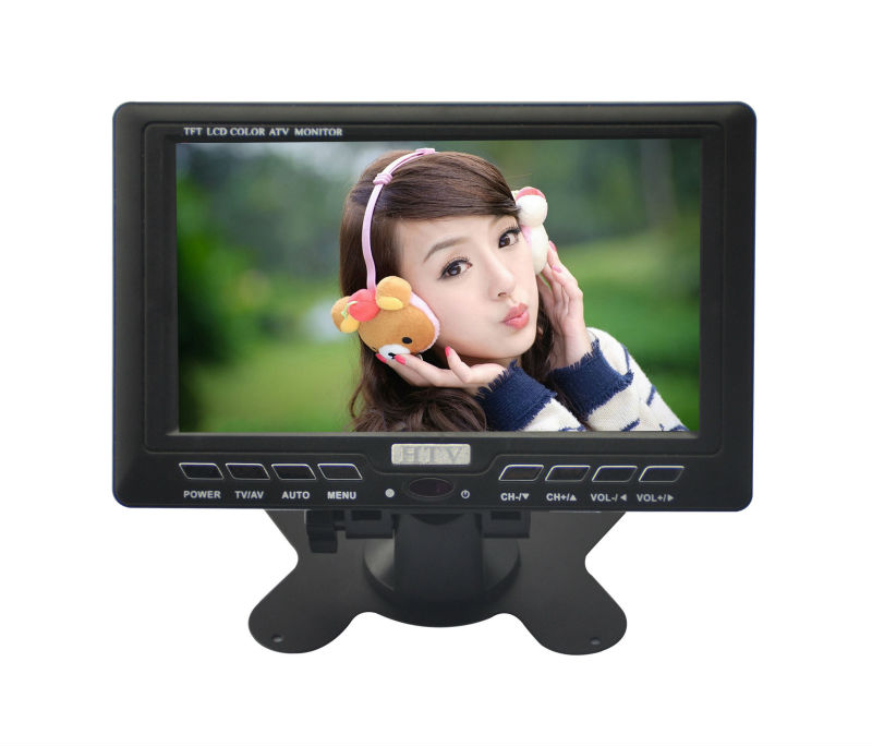 7 inch LCD TV best selling portable digital tv