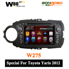 Car DVD for Toyota Yaris 2012 with GPS,Bluetooth,ipod,PIP,Games,Dual Zone,Steering Wheel Control