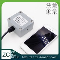 ZC 2-axis levelling tip over alarm Relay output tilt switch for aerial lifts
