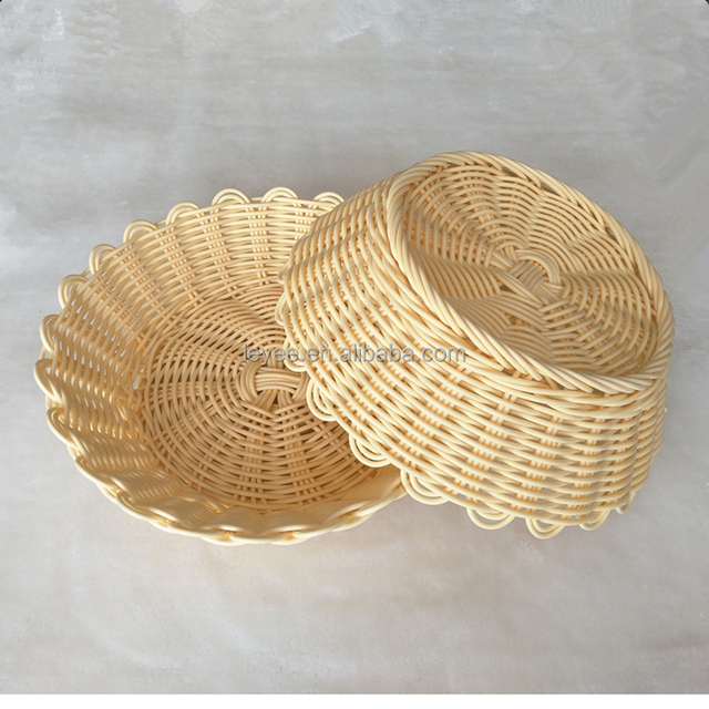 China handmade woven cheap bamboo bread basket