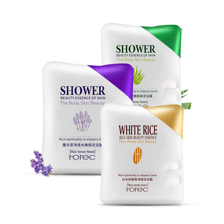 aloe vera body wash liquid soap skin whitening mud shower gel