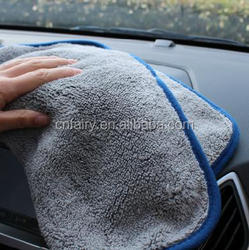 deluxe 800GSM microfiber car wash towel 16x24""