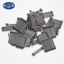 glued high tensile strength 1100-2850 steel fiber for highway airport pavement