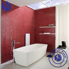 3D wallpaper eco-friendly interior home decoration pvc wall panel