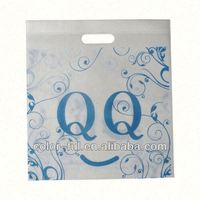 folding handle non woven shopping bag