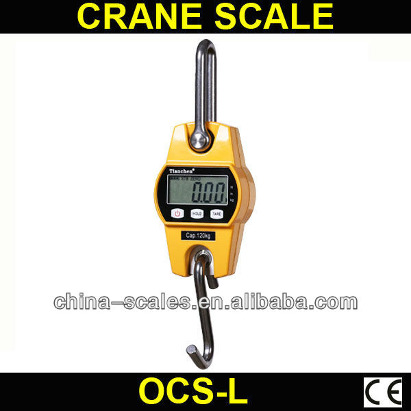 LCD display OCS-L electronic cattle scales 150kg