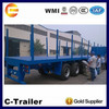 China cheap fence semi trailer to transport goods animals wood