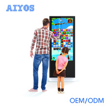 Intelligent Android Windows Advertising Display 42 inch IR Capacitive Multi Touch Screen Digital Information Kiosk