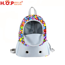 New Designer Front Pet Backpack for Small Dog Comfortable Dog Cat Pet Carrier Backpack High Quality Hotsales Luxury Dog Bag