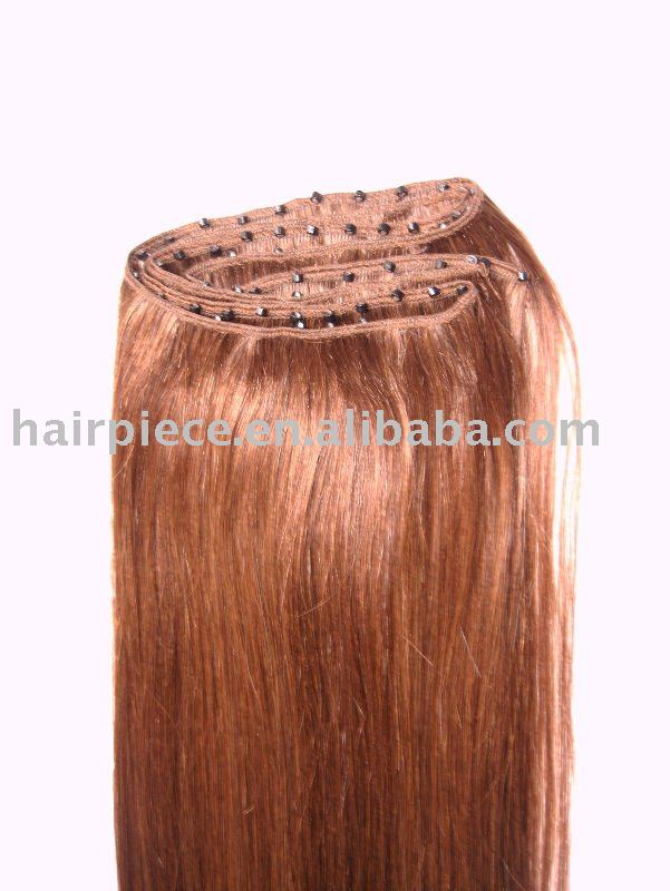 EZ micro ring remy human hair weaving/weave/weft
