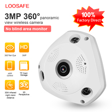 New design p2p network camera networkcamera analog fisheye security vr camera 360 degree