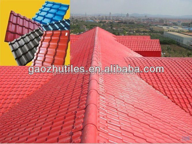 plastic building material philippines asphalt shingle price house roofing Synthetic resin tile