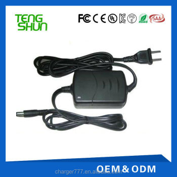 desktop 4.2v 3.7v li-ion battery charger 3.7v 0.5a 1a 1.5a 2a with CE UL SAA PSE KC