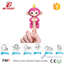 Best Selling High intelligence Christmas Gift Finger Monkey Toys by aftggp
