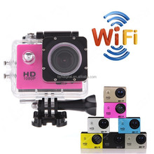 SJ4000 waterproof full hd 1080p sport action camera 4K WIFI waterproof outdoor travelling go pro sports camera
